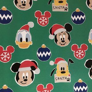 DISNEY CHARACTERS Wrapping Paper Gift Wrap 1 Roll